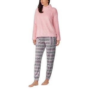 Jane And Bleecker Cozy Lounge Sleepwear Set Pink